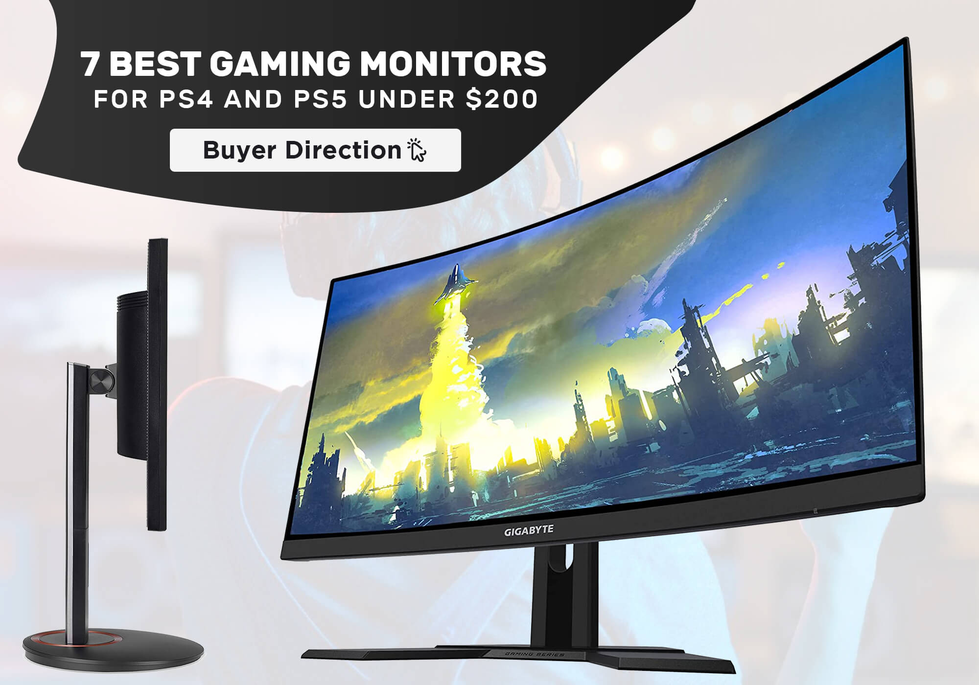 7 Best Gaming Monitors for PS4 and PS5 under $200 in 2021
